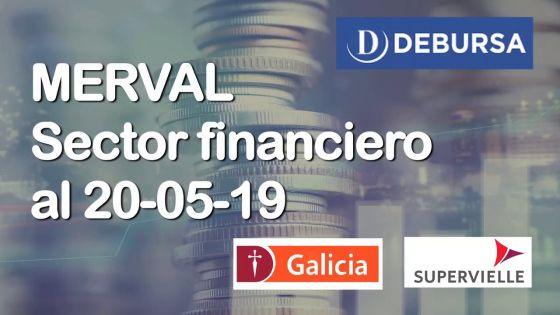 MERVAL - Sector financiero (bancos) al 20 de mayo 2017