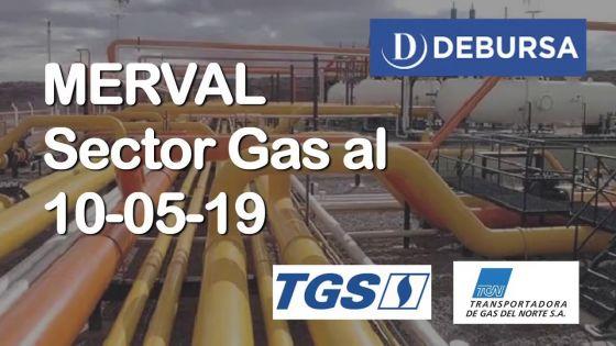MERVAL - Sector Gas al 10 de mayo 2019