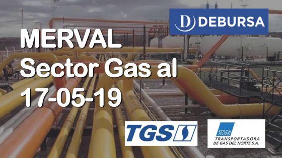 MERVAL - Análisis del sector de empresas de Gas al 17 de mayo 2019