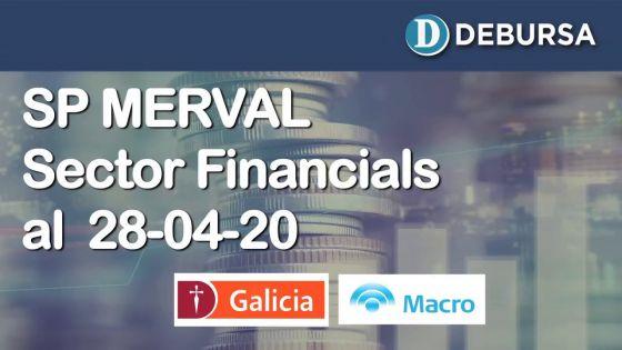 SP MERVAL - Sector FInancials (Bancos). Analisis al 28 de abril 2020