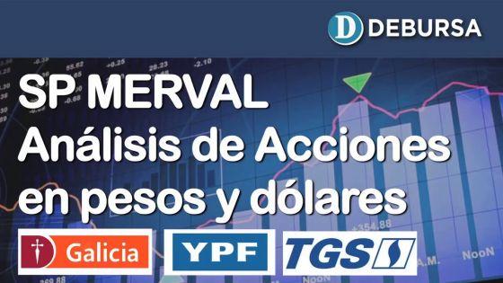 SP MERVAL - Análisis de acciones en pesos y dolares al 18 de octubre 2019