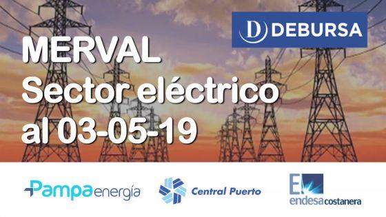MERVAL - Análisis del sector eléctrico al 3 de mayo 2019