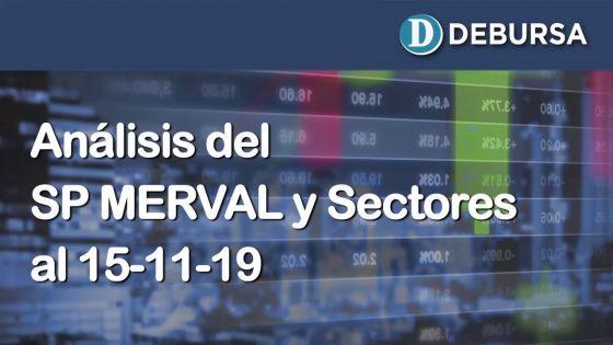Índices Bursátiles: análisis del MERVAL al 15 de noviembre  2019