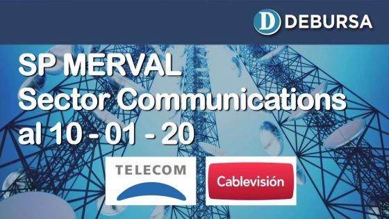 SP MERVAL - Sector Comunications. Análisis al 10 de enero 2020