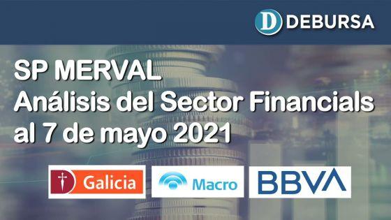 SP MERVAL - Sector FInancials (Bancos). Análisis al 7 de mayo 2021