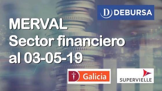 MERVAL - Análisis del sector financiero (bancos) al 3 de mayo 2019