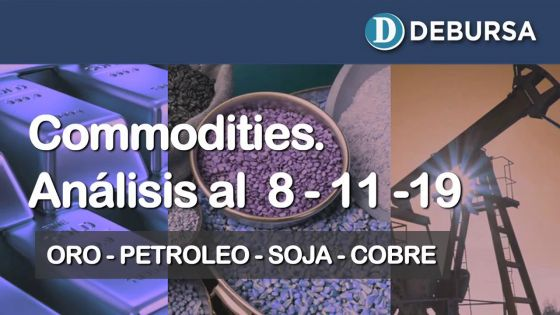 Analisis de Commodities al 8 de noviembre 2019