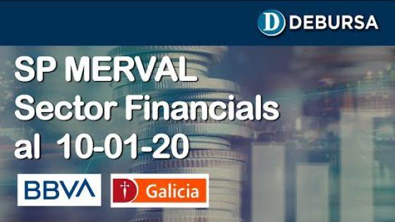 SP MERVAL - Sector FInancials (Bancos). Analisis al 10 de enero 2020
