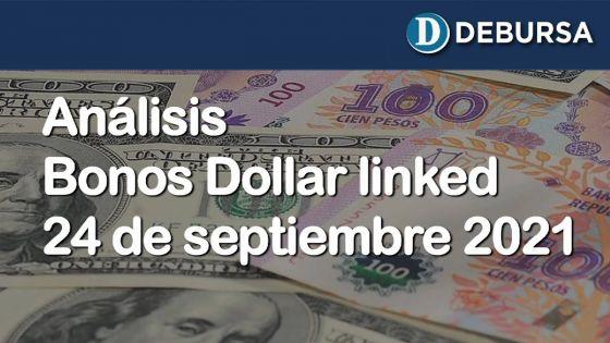 Análisis bonos dollar linked al 24 de septiembre 2021