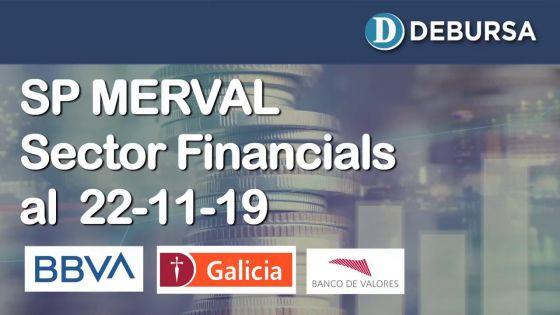 SP MERVAL - Análisis del sector Financials (bancos) al 22 de noviembre 2019