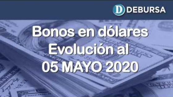 Bonos argentinos en dólares. Análisis al 5 de mayo 2020