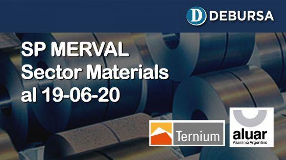 SP MERVAL - Análisis del sector Materials al 19 de junio 2020