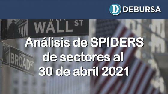 Análisis de Spiders de sectores al 30 de abril 2021