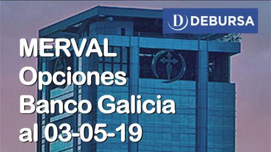 Opciones de GF Galicia al 3 de mayo 2019