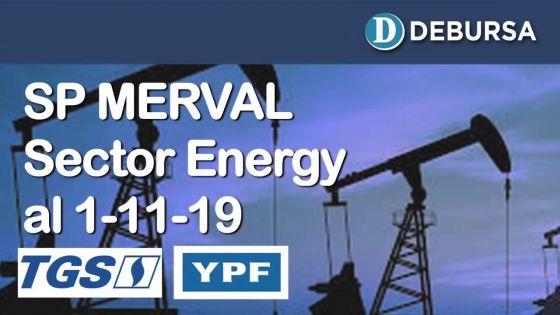 SP MERVAL - Análisis del sector Energy (petóleo y gas) al 1ro de noviembre