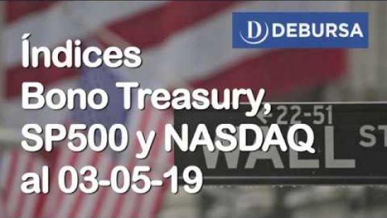 Indices financieros EEUU al 3 de mayo 2019
