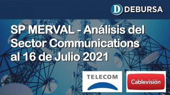 SP MERVAL - Análisis del sector Communications Services al 16 de julio 2021