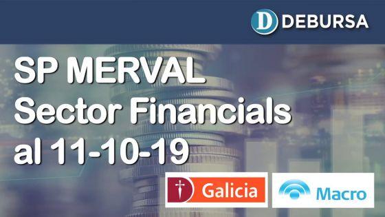 SP MERVAL - Análisis del sector Financials (bancos) al 11 de octubre 2019
